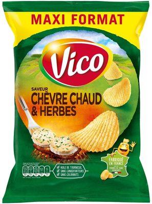 Chips saveur Chèvre Chaud & Herbes 360g - Product - fr