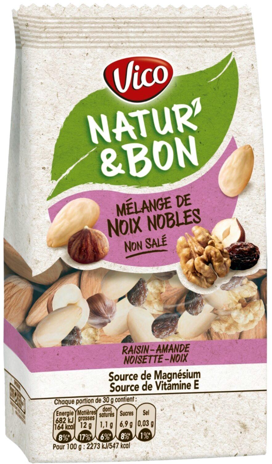 Natur'&Bon Mélange de noix nobles non salé - Produit