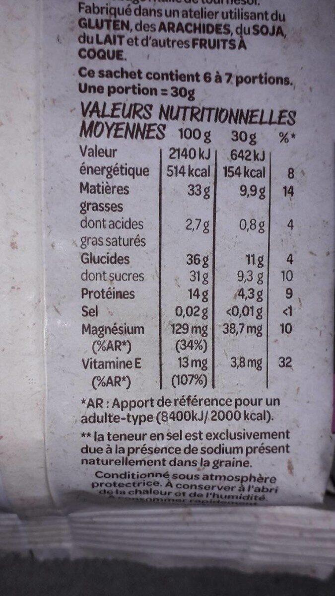 Mélange de noix nobles non salé - Voedingswaarden - fr