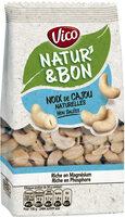 Natur'&Bon Noix de cajou non grillées non salé - Product - fr