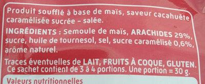 Curly donuts - Ingrédients - fr