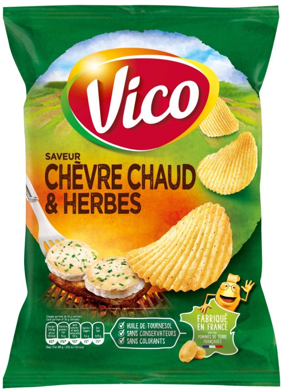 Chips saveur chèvre chaud 45g - Product