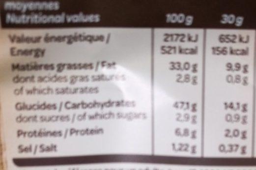 La Gourmande L'original - Informations nutritionnelles - fr