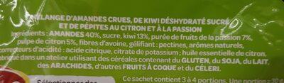 Apérifruits Sensation Fraicheur - Ingredients