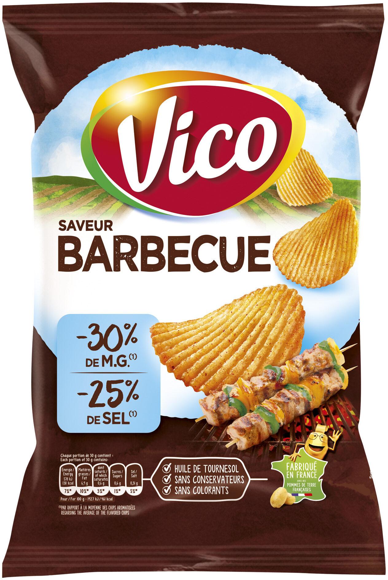 Chips allégée saveur barbecue - Produit