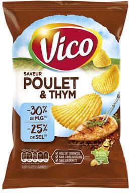 Chips allégée poulet thym - Product
