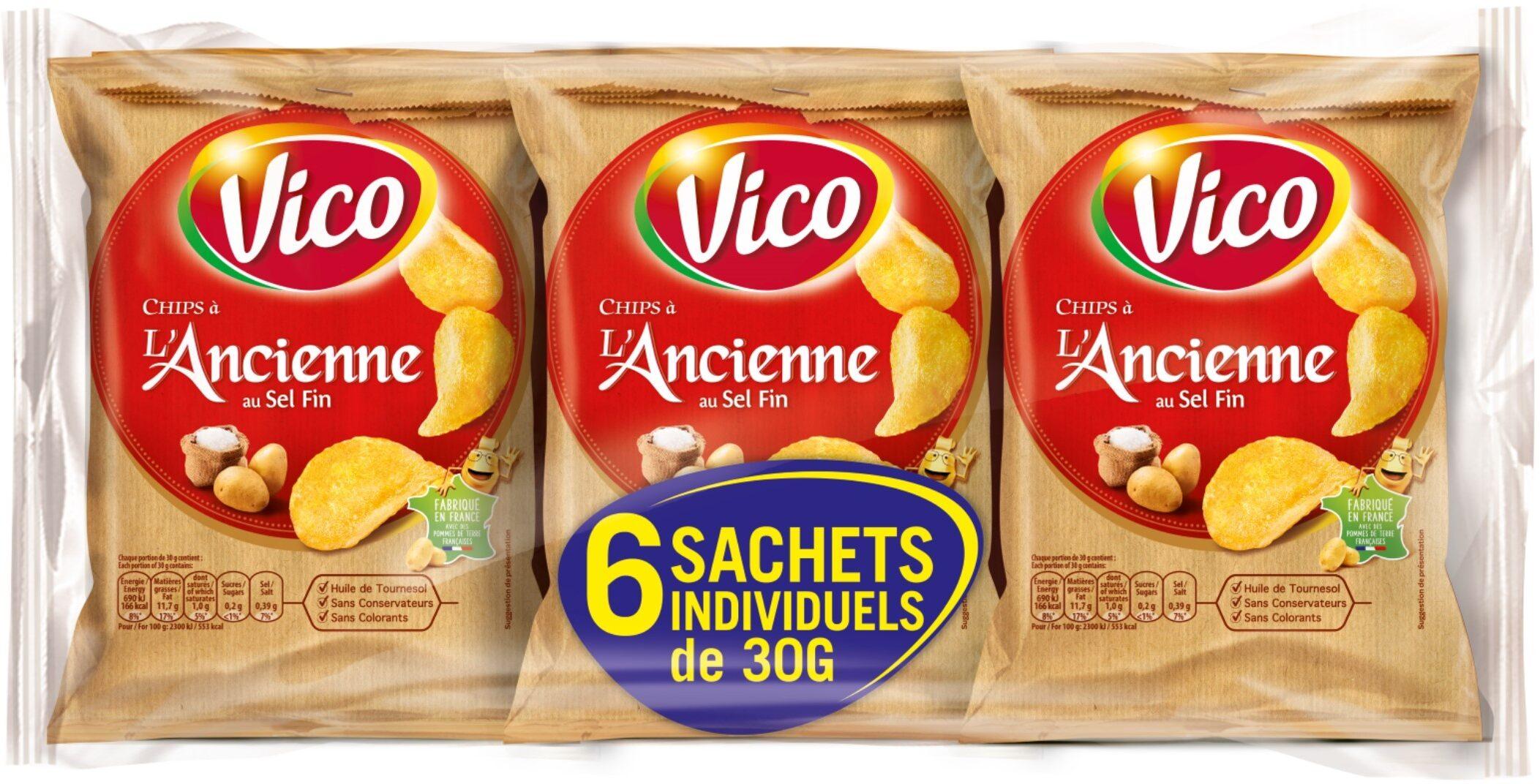 Chips à l'ancienne au sel fin - Produit - fr