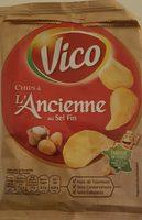Chips à l'ancienne au sel fin - Product