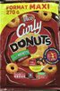 Curly DONUTS goût noisette - Produit