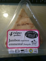 Crêpes garnies Jambon Emmental - Product - fr