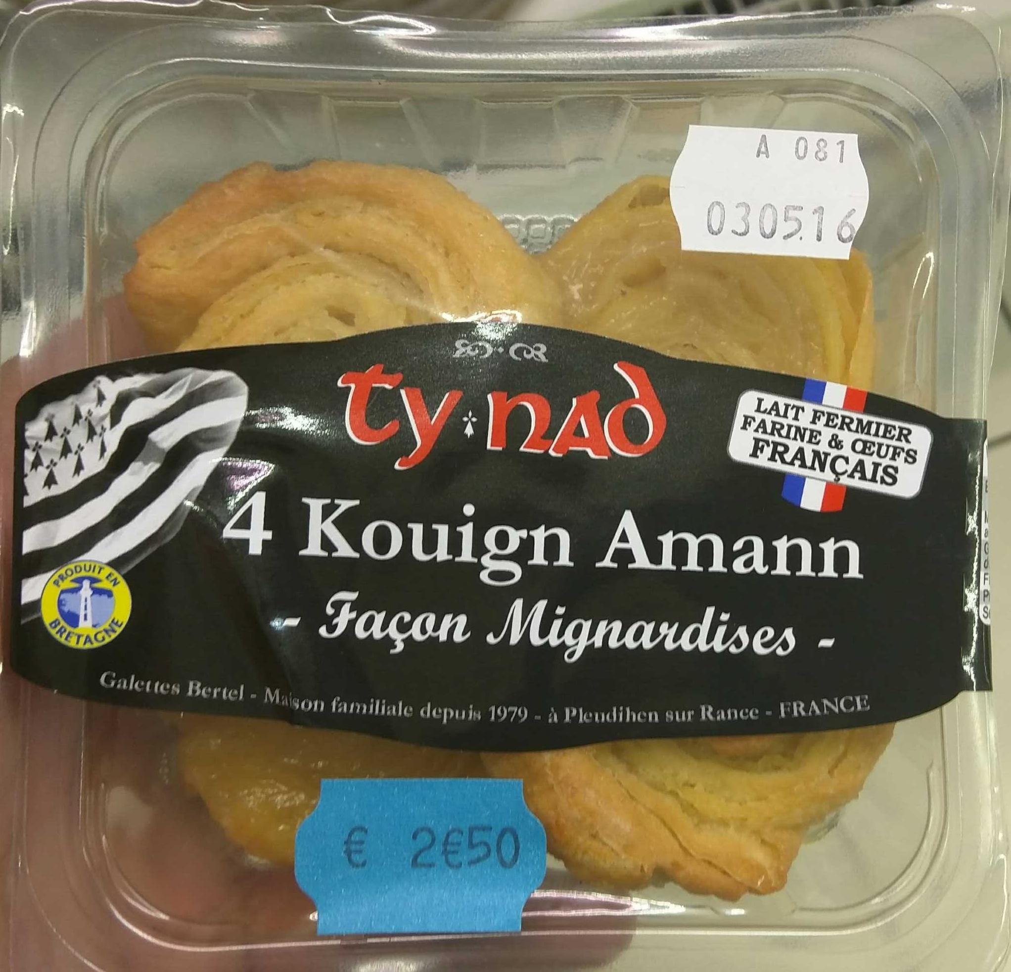 Kouign Amann Façon Mignardises - Product - fr