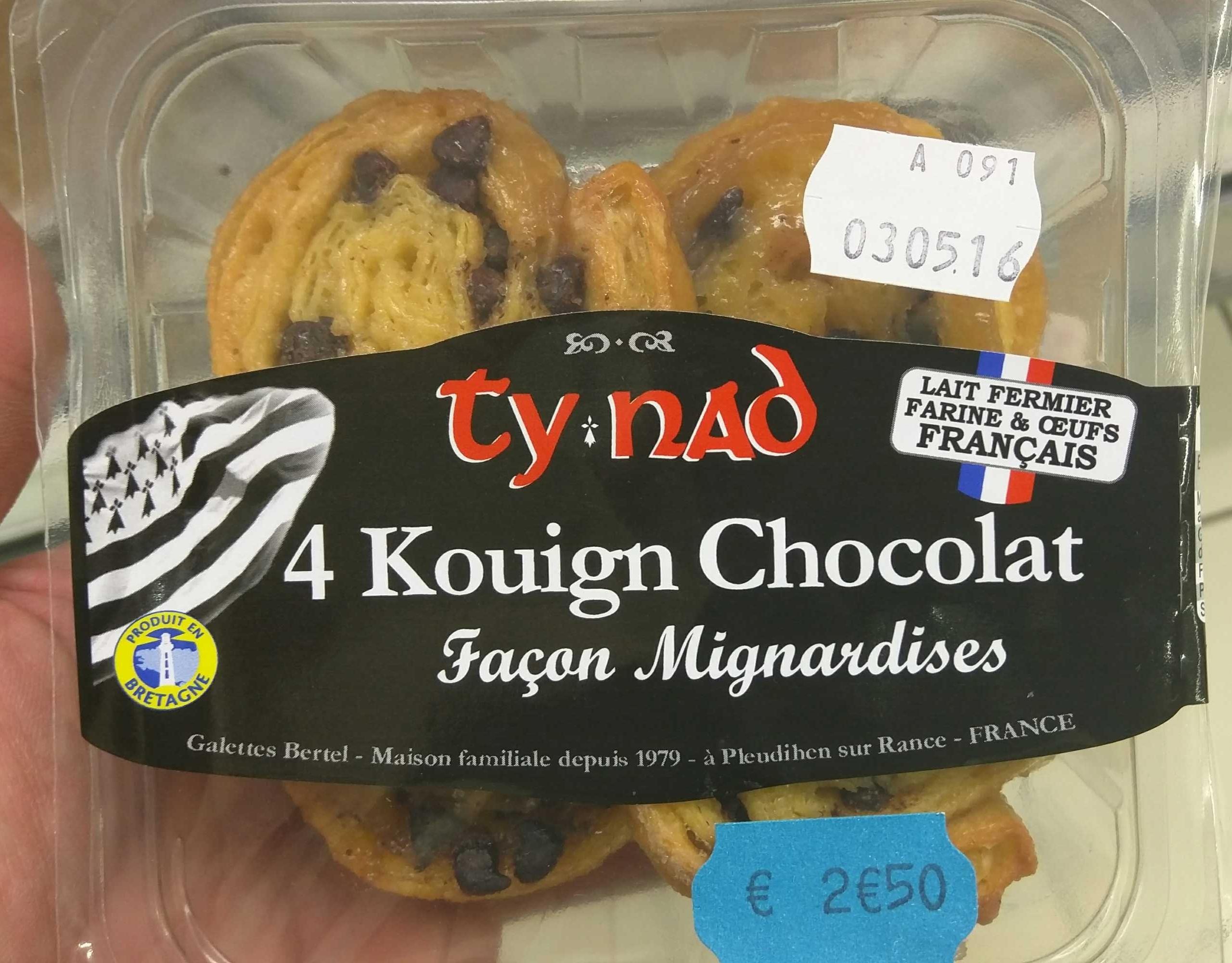 Kouign Chocolat Façon Mignardises - Product - fr