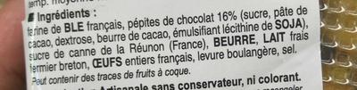 Kouign Chocolat Façon Mignardises - Ingredients - fr