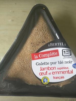 La complète - Galette pur blé noir - Produit