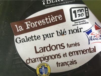La Forestière - Produit