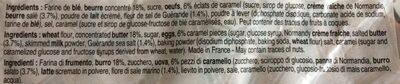 Palets de Bretagne Parfumés - Ingrédients - fr