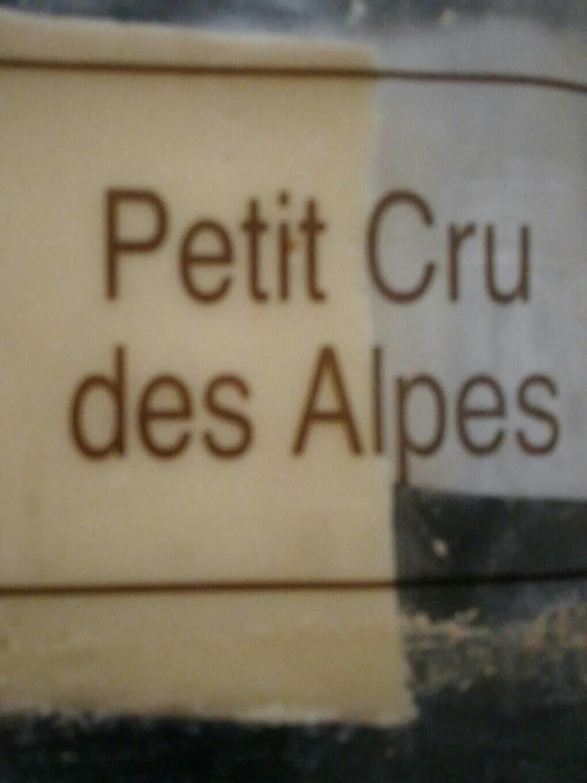 Cru des Alpes portion - Informations nutritionnelles - fr