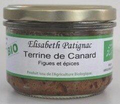 Terrine De Canard Figues Et Epices Bio - Produit - fr