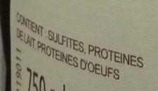 Aloxe-Corton - Ingredients - fr