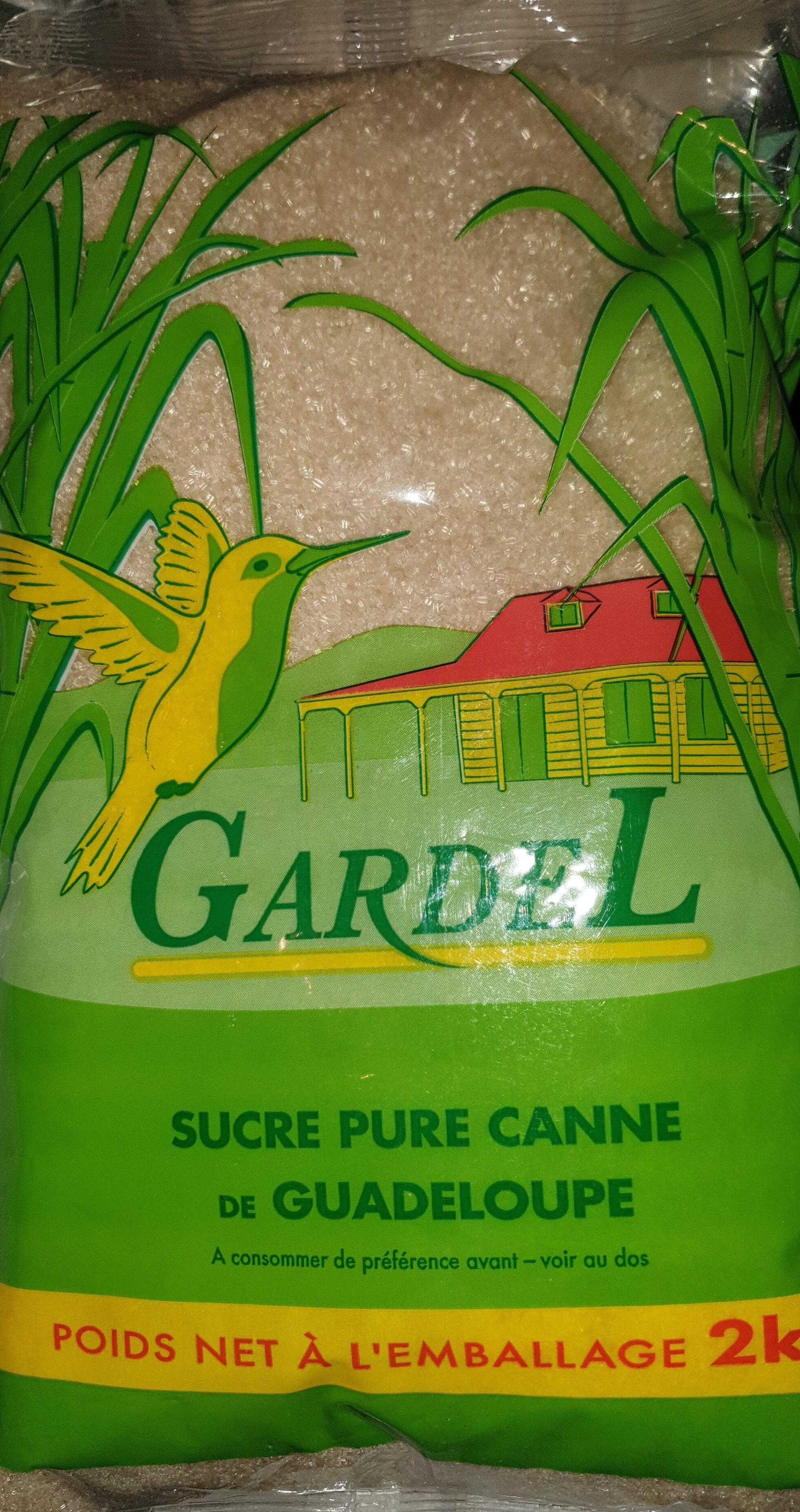Sucre  de canne - Rohrzucker - Product - fr