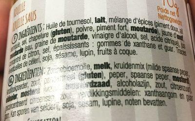 Mets de Provence rouille huile d'olive verte - Ingrediënten - fr