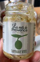 Mets de Provence tapenade d'olives vertes - Prodotto - fr
