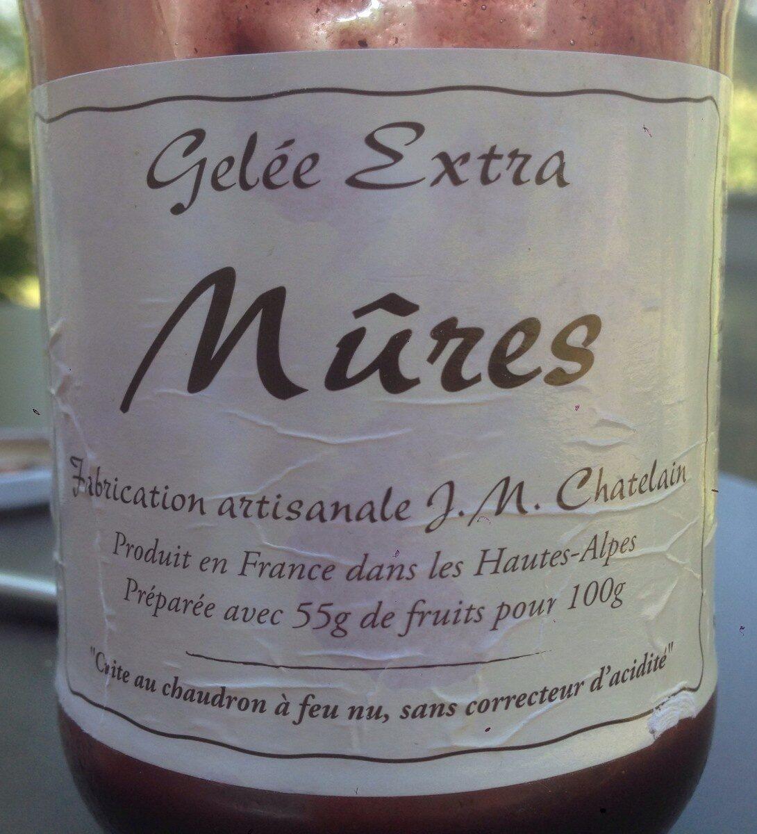 Gelée Extra Mûres - Prodotto - fr