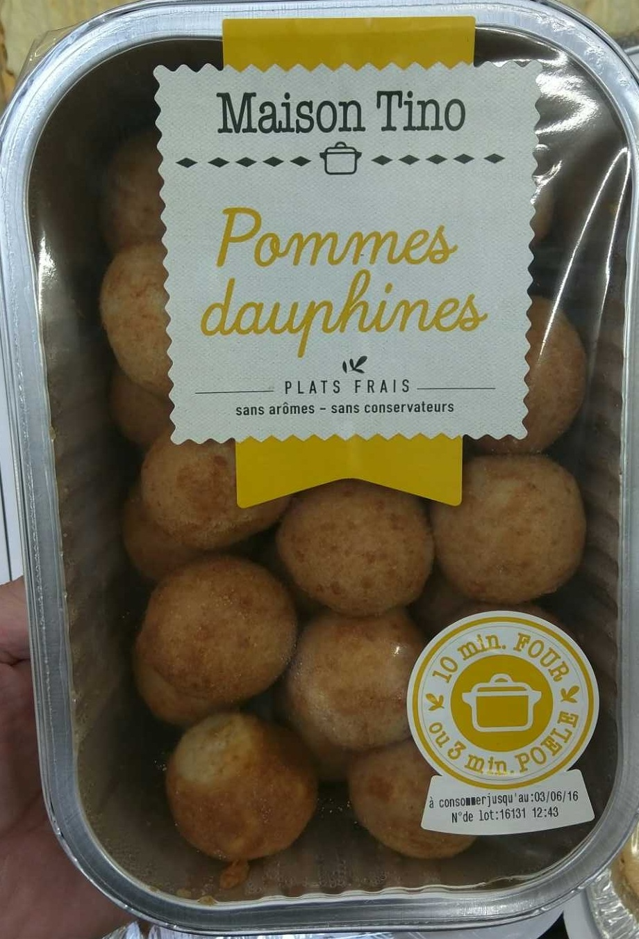 Pommes dauphine - Product - fr