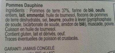 Pommes dauphine - Ingrediënten