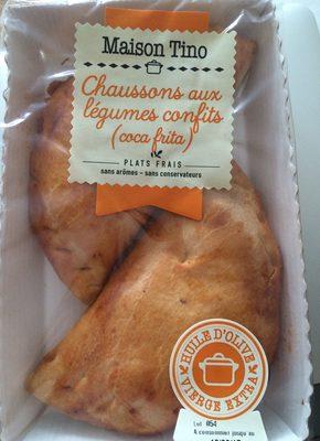 Chaussons aux légumes confits - Produit