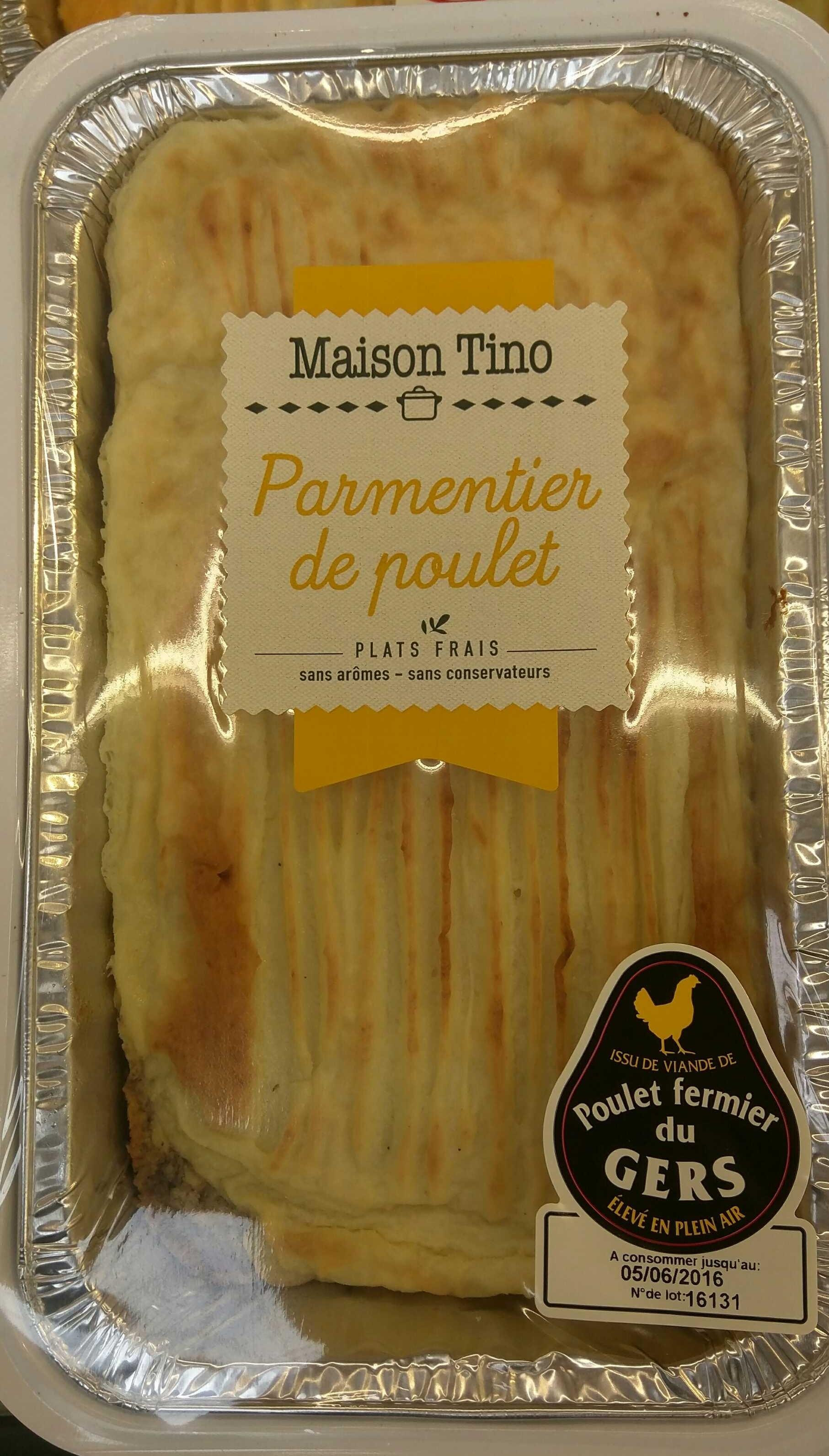 Parmentier de Poulet - Produit - fr