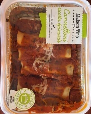 Cannelloni ricotta epinards - Product - fr