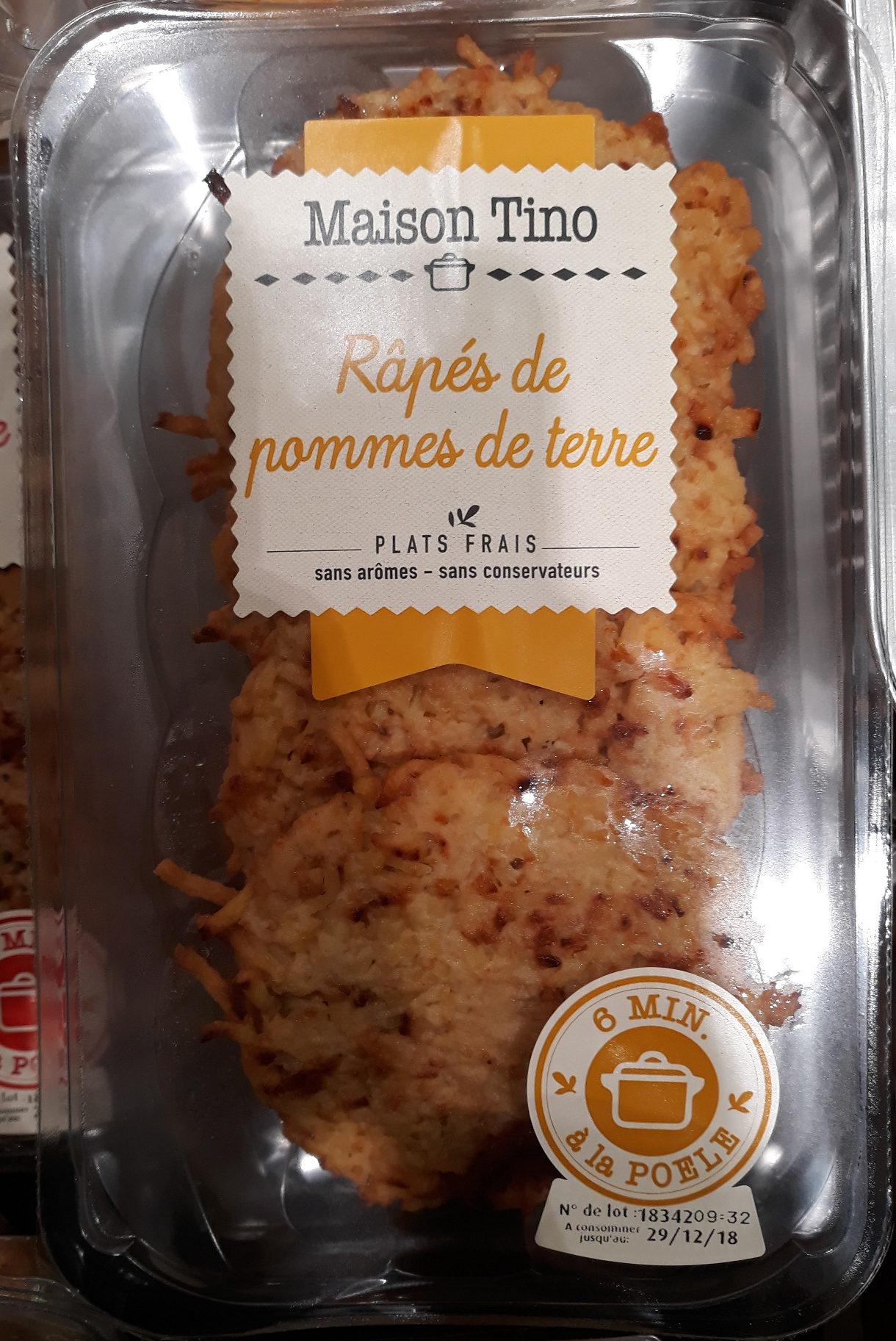 Râpés de Pommes de Terre - Produit - fr