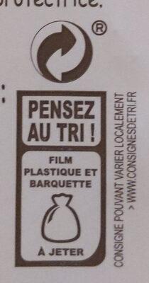Aligot saucisse - Recyclinginstructies en / of verpakkingsinformatie - fr