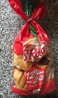 12 pains au lait super moelleux - Product