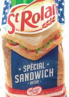 Pain de mie spécial sandwich - Produit - fr