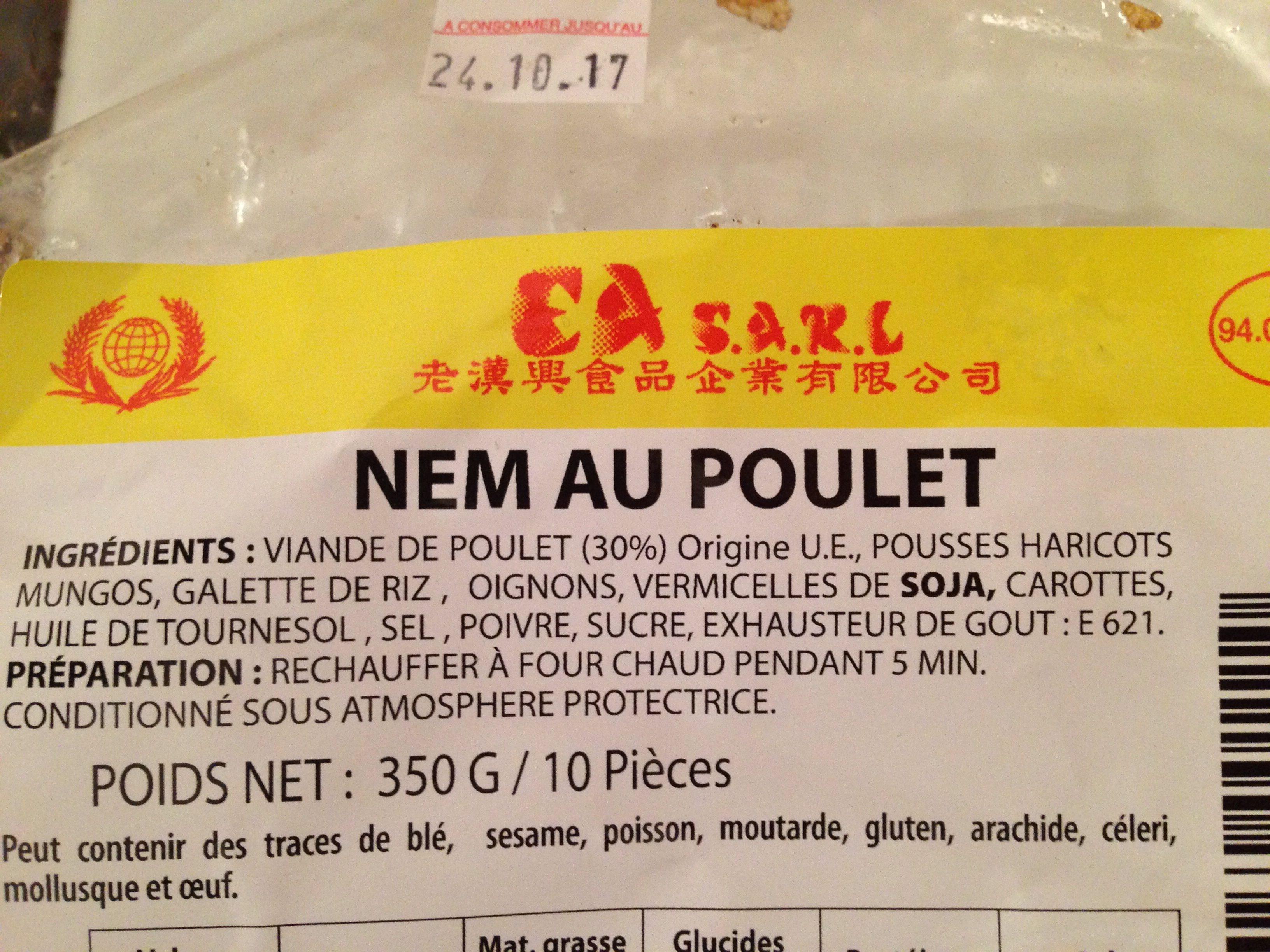 Nem au poulet - Produit - fr