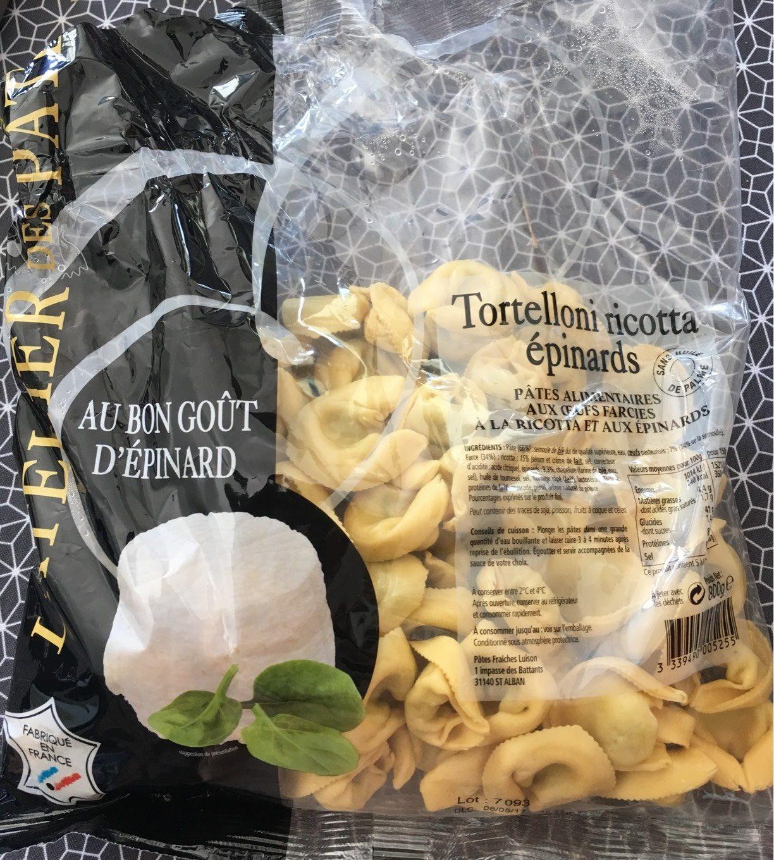 Tortelloni Ricotta Épinards - Product