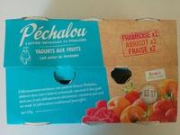 Yaourts aux Fruits (Framboise, Abricot, Fraise) - Producto
