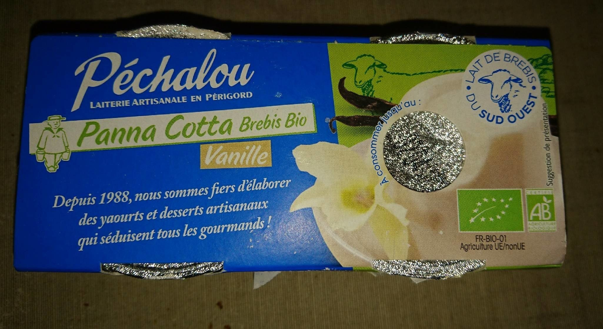 Panna cotta brebis bio - Product - fr