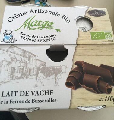 Creme artisanale bio Margo - Produit - fr