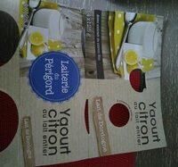 Yaourt Citron au lait entier - Produit - fr