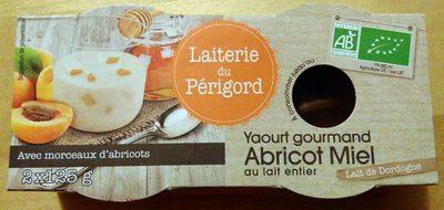 Yaourt gourmand Abricot Miel - Produit - fr