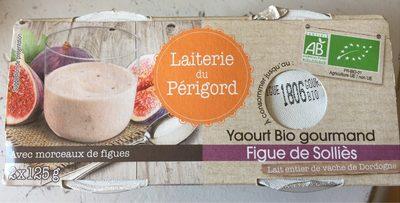 Yaourt bio gourmand figue de Solliès - Product