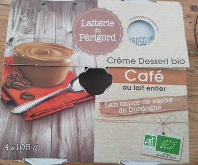 Crème Dessert Café - Produit - fr