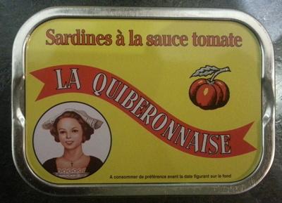 Sardines à la sauce tomate - Product