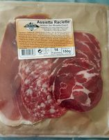 Assiette Raclette Jambon sec-Rosette-Coppa - Produit - fr