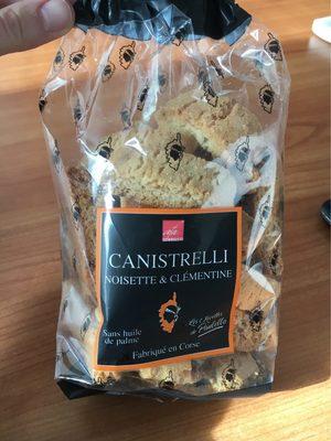 Canistrelli - Produit