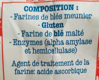 Farine du boulanger - Ingrédients - fr