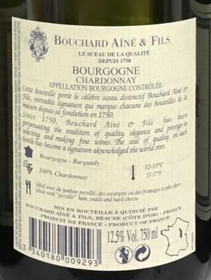 La Marche Bourgogne Chardonnay - Ingrédients - fr